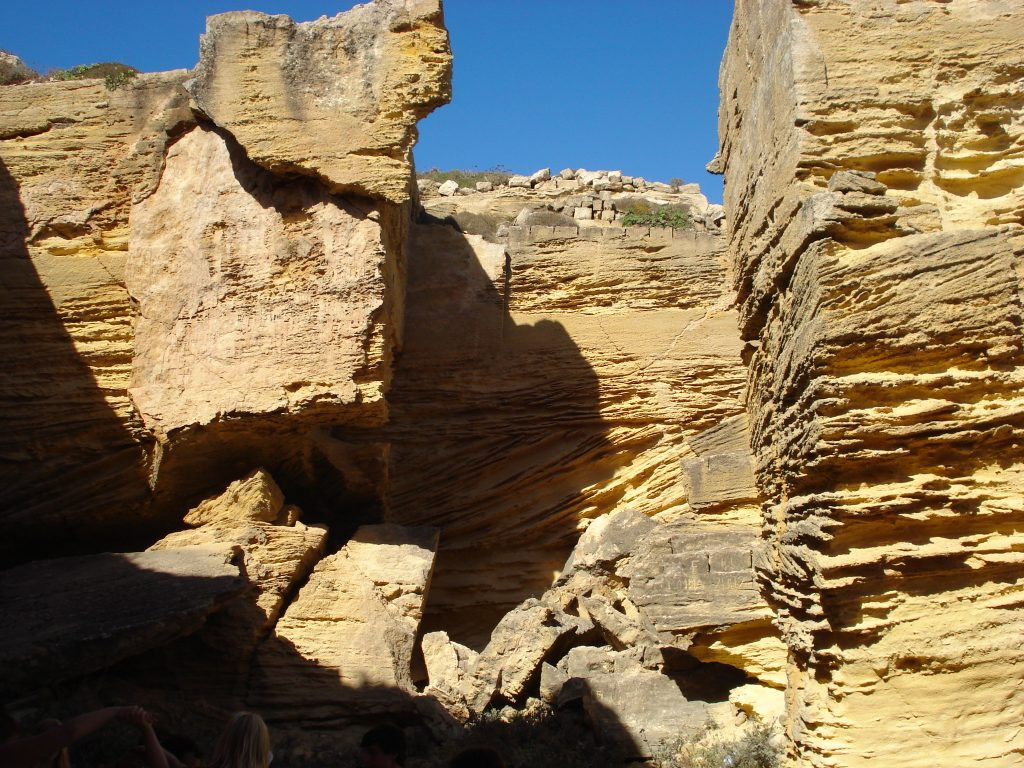 Les grottes de Tuf